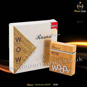 RASASI WOW WOODY MEN 60ML RASASI UK & EU Official Distributors 100% ORIGINAL