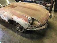 Jaguar E type 1967, manual 2+2, coupe, for complete restoration, don't miss!!!