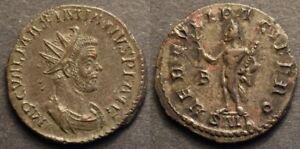 Maximianus AE Antoninianus / HERCVLI PACIFERO