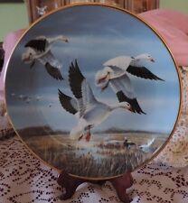 "Snow Geese""~Against November Skies~By Lynn Kaatz~1990~COA +"