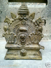 Vintage Brass Statue / Idol Of God Jagannath , Subhadra , Balaram