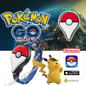 Pokemon Go Plus Bluetooth Armband Zubehör Bracelet für Nintendo IOS Android DE