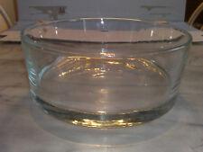 Kristallschale Bleikristallschale Nachtischschüssel Obst Eis rund