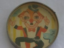 VINTAGE CLOWN TOY HAND HELD DEXTERITY PUZZLE MADE IN US ZONE GERMANY D.R.G.M.