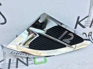 BENTLEY CONTINENTAL GT W12 2018 RIGHT SIDE GRILL WING FENDER TRIM VENT 3SD821274