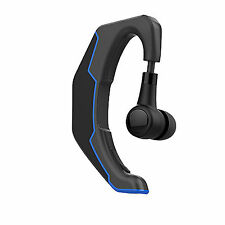 Wireless Bluetooth Headset Stereo Earphone With Mic Earpiece For Cell Phones PC