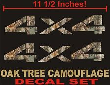 4x4 Truck Decals (Set) REAL TREE CAMOUFLAGE CAMO Chevy, Ford, Dodge