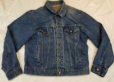 Levi's 70506 Vintage 80's USA Jean Denim Trucker Jacket Blue Mens 42 Small