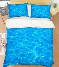3D Blue Sea Water Texture Kep9306 Bed Pillowcases Quilt Duvet Cover Kay