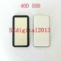 Top Outer LCD Display Window Glass Cover (Acrylic) For Canon EOS 40D 50D+ TAPE
