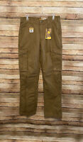 Carhartt Force Mens Tappen Cargo Pant Relaxed Fit Yukon Brown 31x34 New NWT