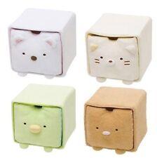SAN-X Sumikkogurashi Small Storage box with lid Fleece Japan Sumikko gurashi