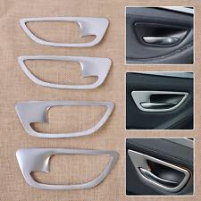 Chrome Interior Door Handle Bowl Frame cover molding trim for BMW 5 F10 F18