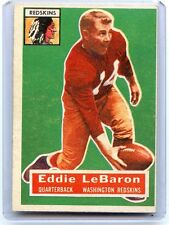 "1956 TOPPS FOOTBALL #49 EDDIE LeBARON ""SP"", WASHINGTON REDSKINS, 080217"