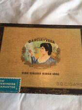 GARCIA Y VEGA ENGLISH CORONAS CIGAR BOX EMPTY.