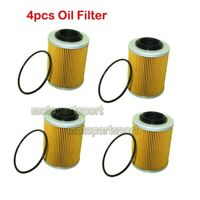 4x Engine Oil Filter For Ski-Doo Sea-Doo Spark EXPEDITION GSX RENEGADE 420956123