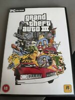 Grand Theft Auto 3 Pc Cd Rom Game No Manual FREE P&P