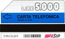 *G 23 C&C 1120 A SCHEDA TELEFONICA USATA FASCE 12.90 PK VARIANTE STRISCE OBLIQUE