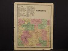 New York, Wayne County Map, 1874, Walworth, Y4#63