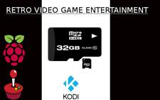 32GB RETRO VIDEO GAME MICRO SD CLASS 10 SDHC COMPATIBLE RETROPIE & KODI