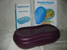 Tupperware Mikrowelle Omelett Omlett Meister lila + Rezepte Neu