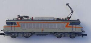 SNCF REDECORATION LOCOMOTIVE BB22285 BASE FLEISCHMANN ECHELLE N
