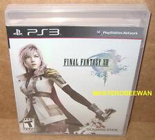 Final Fantasy XIII (PlayStation 3, 2010) PS3 Original Black Label New Sealed