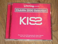 KISS  CLUBLIFE 2000  SELECTION  CD   BY MIXMAG  MAGAZINE  VGC