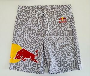 RED BULL ATHLETE ONLY SWIM BOARDSHORTS - WHITE - SUMMER - SHORTS - HAT