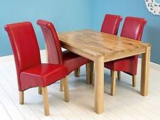 Solid Wood Up to 6 Traditional Kitchen & Dining Tables