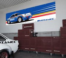 Motamec Classic Porsche 911 Rothmans Rally 953 Grande De Pared Banner garaje canario