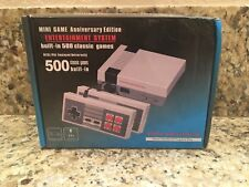 Mini Game Anniversary Edition Entertainment System Built-in 500 Classic Games