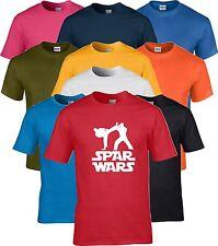 Taekwondo TKD Tang Soo Do Karate Kickboxing Jujitsu Star Spar Wars T Shirt