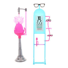 1 Set Cute Exquisite Vision Table With Glasses Equipment for Barbie Doll HT