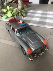 Vintage 007 James Bond Tin Aston Martin with Ejection Seat, Japan