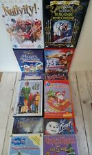 12 Children's Christmas Dvds Joblot bundle Elf Disney Mickey Mouse Nativity