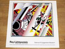 """ROY LICHTENSTEIN EXHIBITION POSTER """" REFLECTIONS: WHAAM! """" POPART ORIGINAL MINT"""
