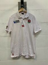 Canterbury England Rugby official World Cup 2015 Polo Size Large L