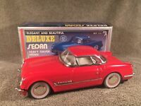 New Toy MF-316 China 1:18 Red 1953 CHEVROLET CORVETTE Coupe Tin Friction