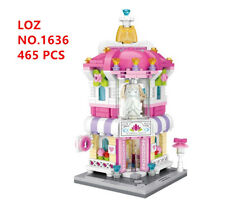 465 pcs LOZ MINI Blocks DIY Building Kids Toy Puzzle Wedding dress Shop 1636