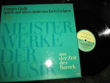 FRANCO GULLI Chaconne BACH Stradivarius PRIVATE PRESS Box N. MINT
