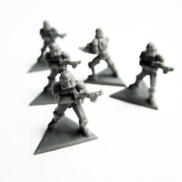 NEW Star Wars Rebellion 5x Stormtrooper Mini Miniatures - Fantasy Flight Games
