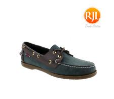 SEBAGO Endeavor Rich Chestnut Leather Boat Shoes UK6 - FAST DELIVERY