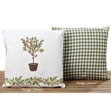 Kissen Stana Oliven grün