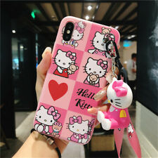 Cartoon Cute Hello Kitty Silicone Soft Case Cover For iPhone XS