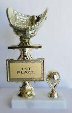 "Baseball Glove Trophy - 101/2"" Tall - Free Engraving"