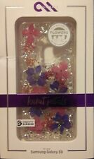 Case Mate Clear KARAT PETALS with real FLOWERS for Samsung Galaxy S9