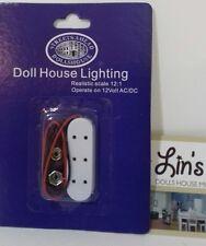 Dolls House Miniatures  9v Battery Connector For Electric Lights DE202 *