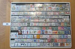 48 - Briefmarken 150 Stück gestempelt TSCHECHISCHEN LÄNDER