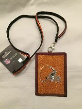 Cleveland Browns ID Wallet . NFL Ohio Indians Cavaliers
